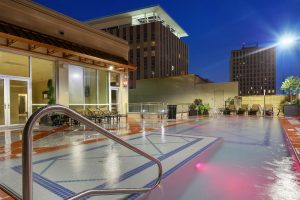 New Orleans Rooftop Apartment Pool