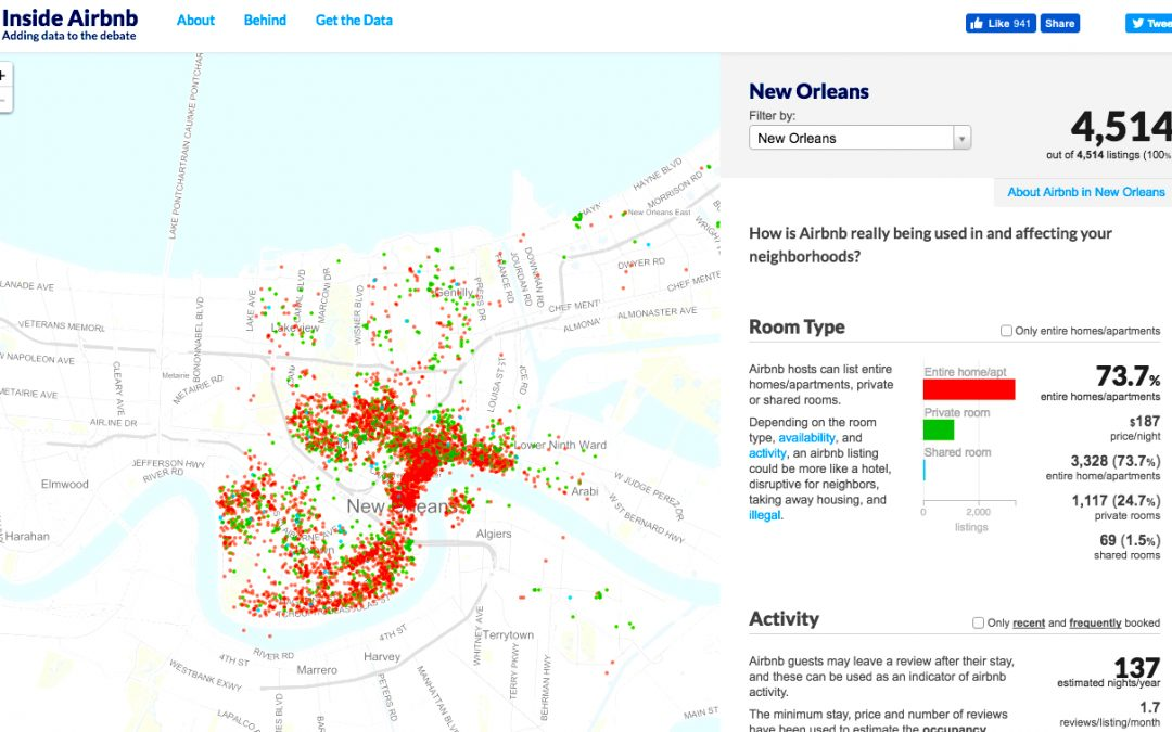 New Orleans & Airbnb Play Fair: 5 Effects on Real Estate